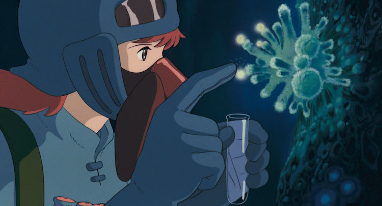 Studio Ghibli Nausicaa of the Valley of the Wind