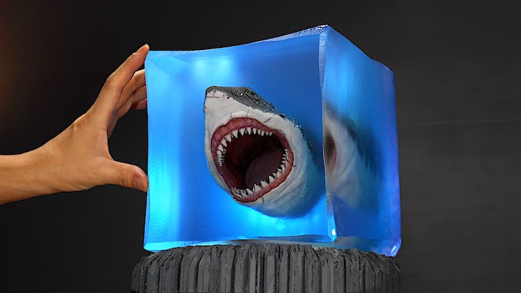 Underwater Resin Sculpture