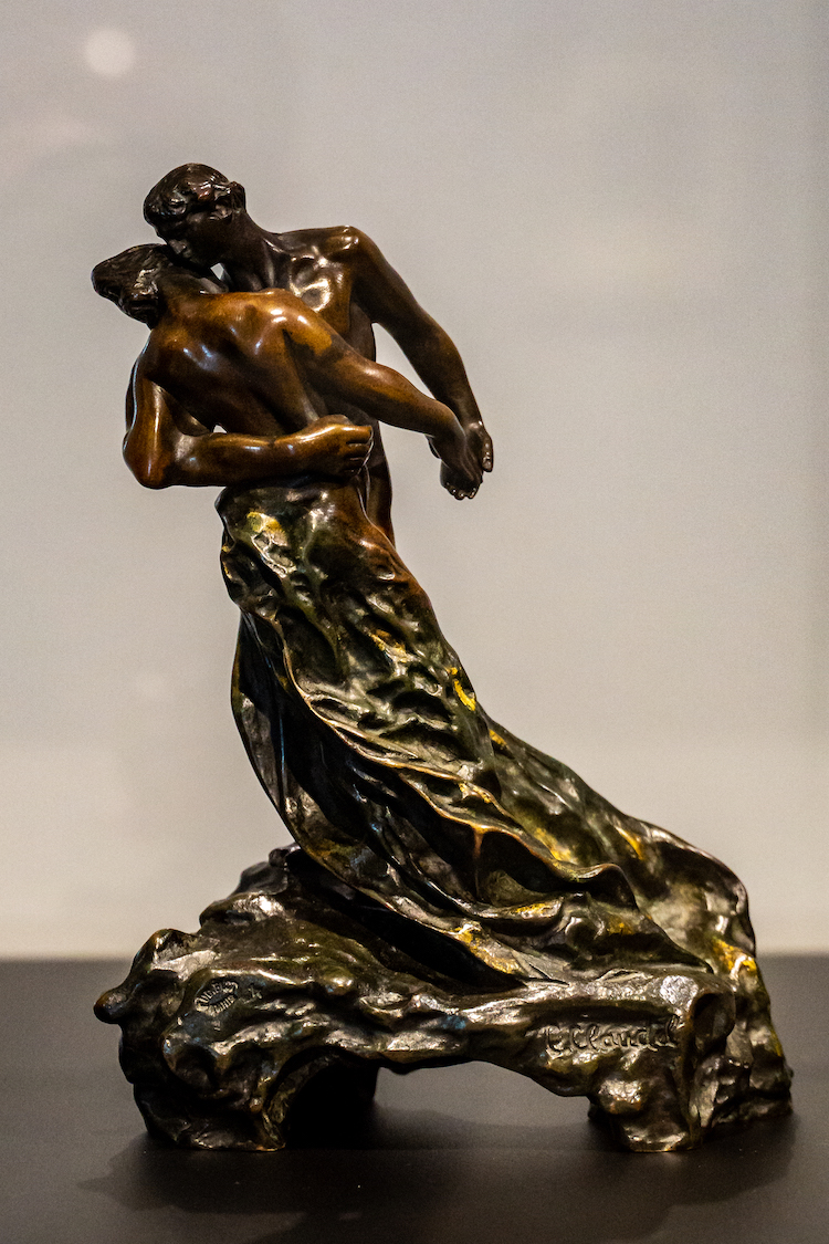 The Waltz Sculpture by Camille Claudel