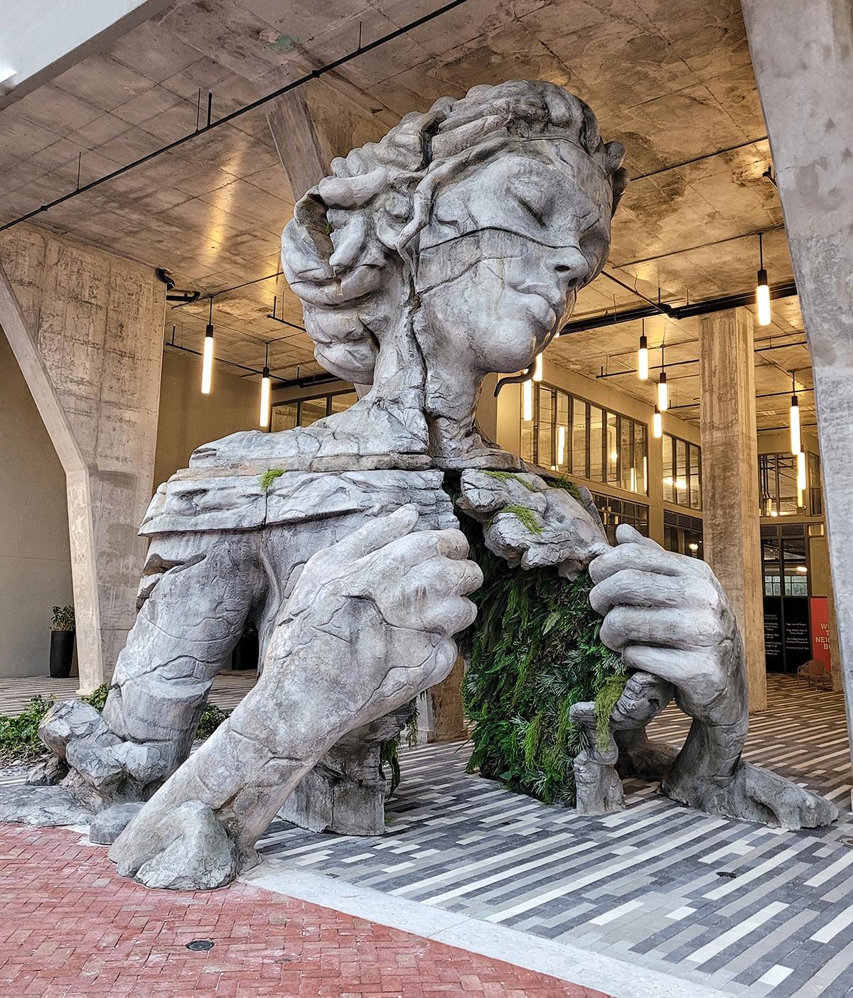 """Thrive"" Public Sculpture by Daniel Popper"
