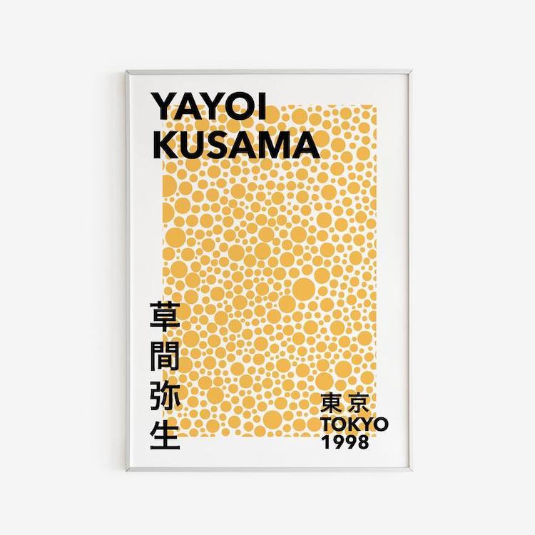 Yayoi Kusama Dots Print