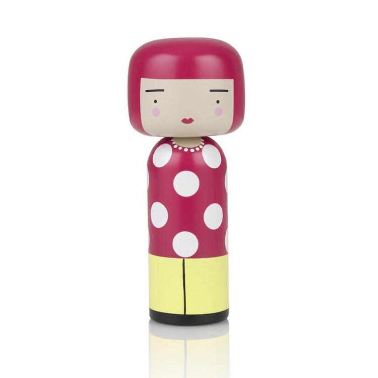 'Dot' Kokeshi Doll