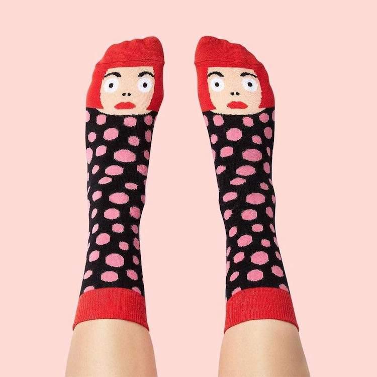 'Yayoi Toesama' Socks