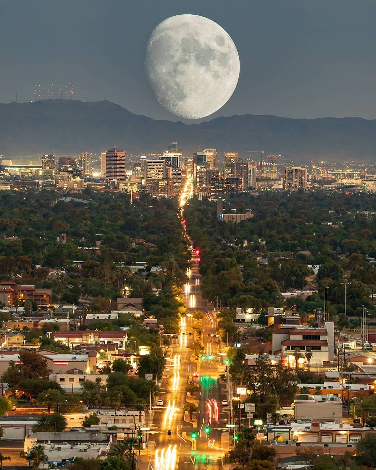Moon Photo by Zach Cooley