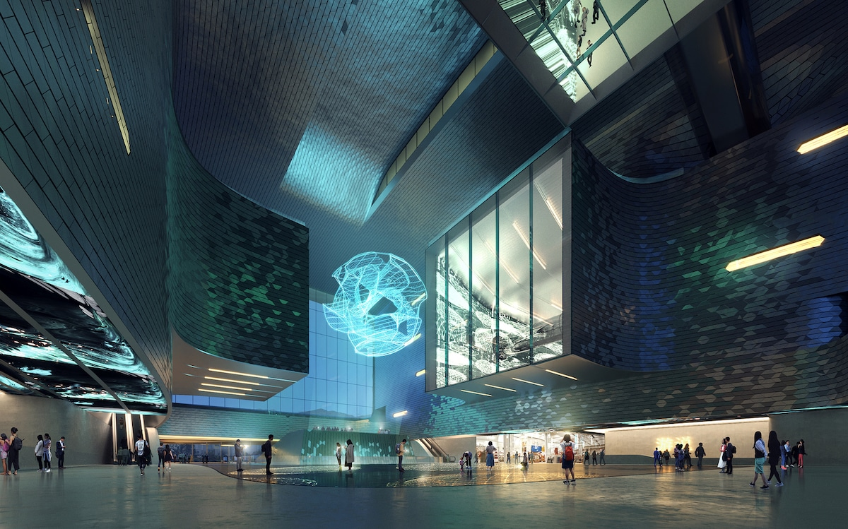 Zaha Hadid Architects Design New Science and Technology Museum in Shenzhen