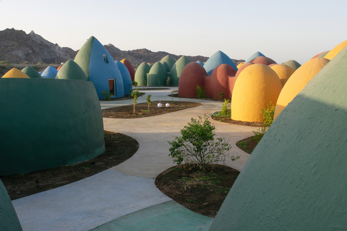 Architects Design Colorful Domes for Alternative Communal Living