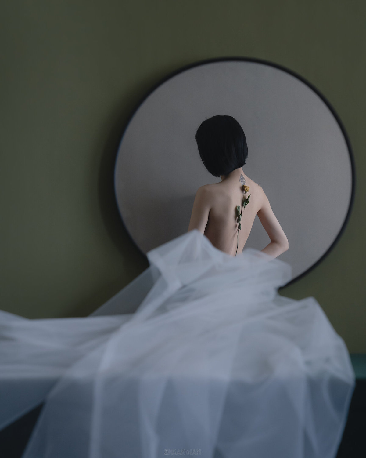 Surreal Self-Portrait Photography by Ziqian Liu