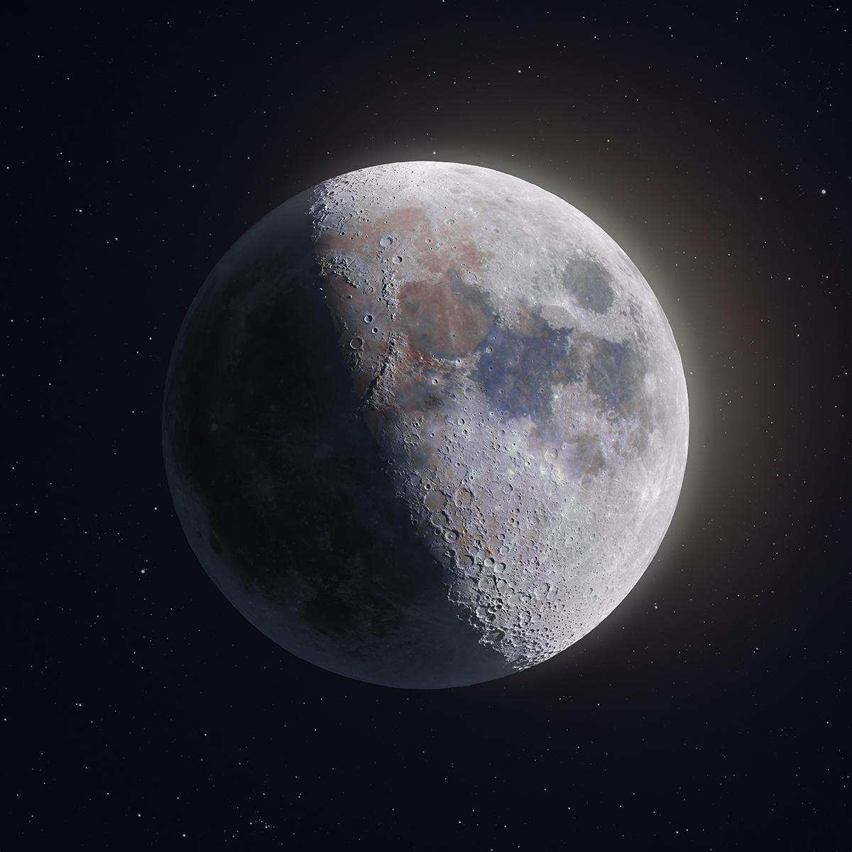 Andrew McCarthy 209 Megapixel Moon Image Astro Photography
