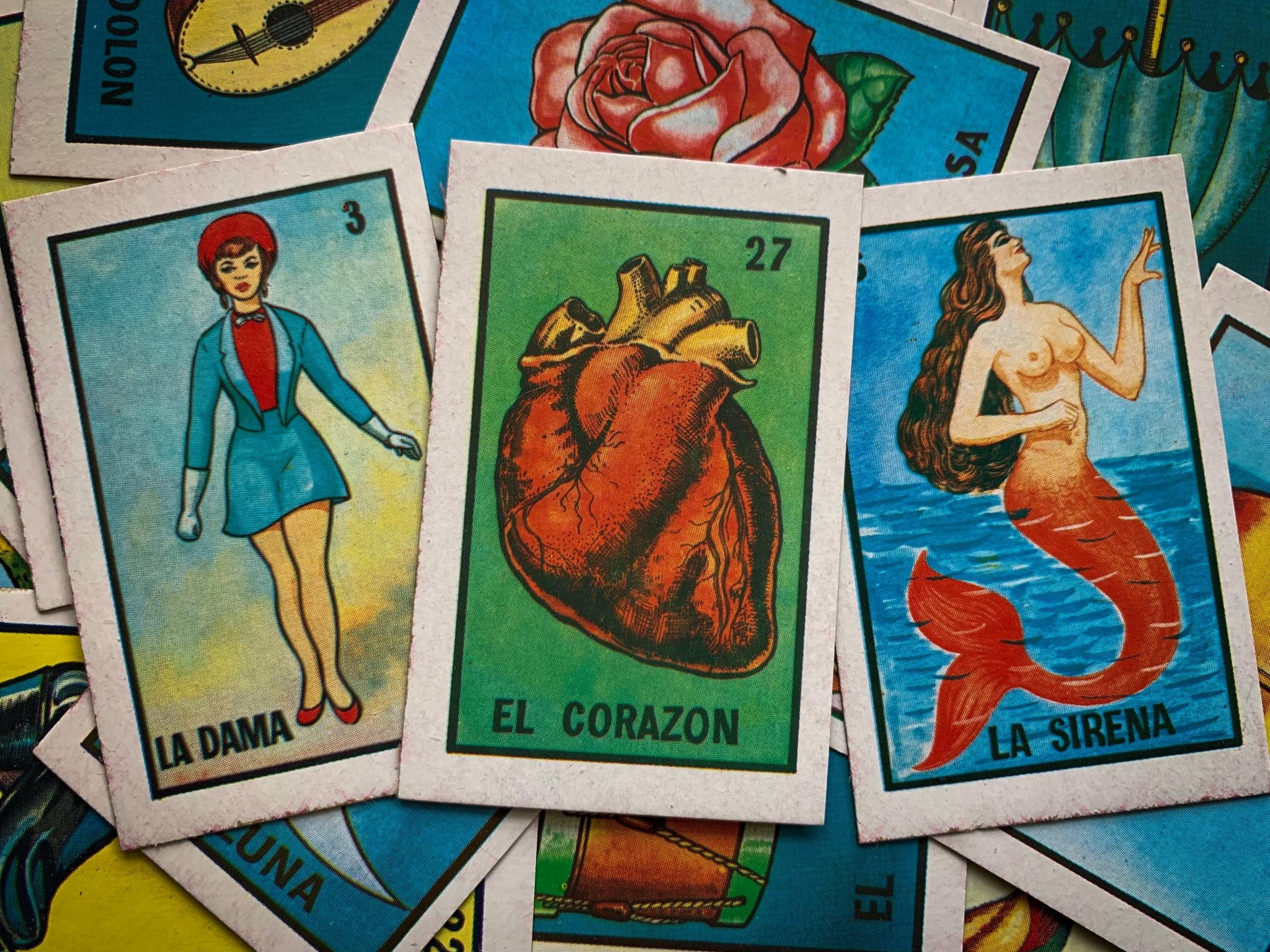 Tarjetas de lotería mexicana