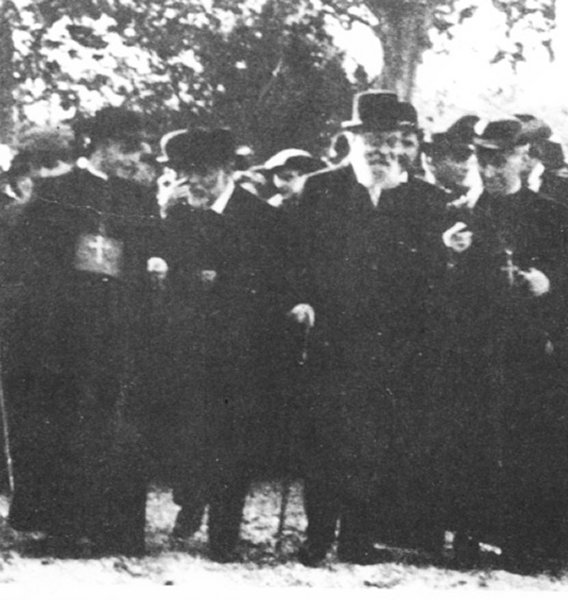 Eusebi Güell y Antoni Gaudí