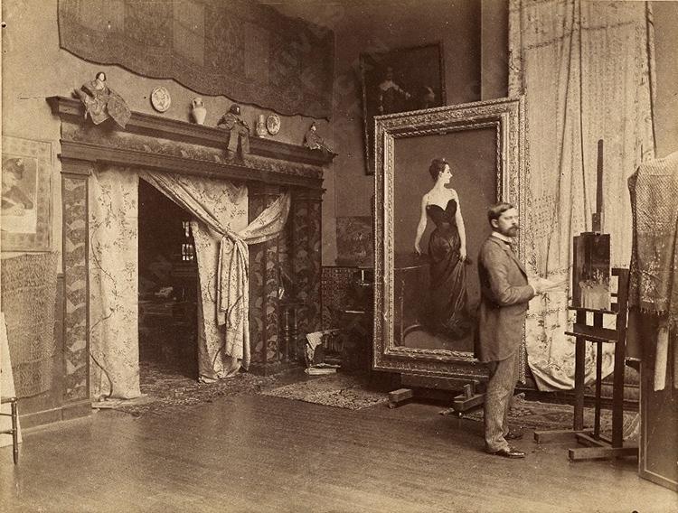 John Singer Sargent Paris 1885