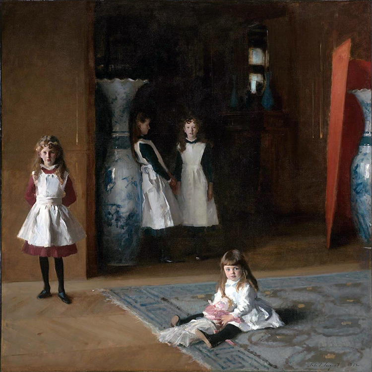 The Daughters of Edward Darley Boit, 1882, Museum of Fine Arts, Boston
