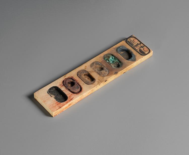 Ancient Egyptian Painter's Palette