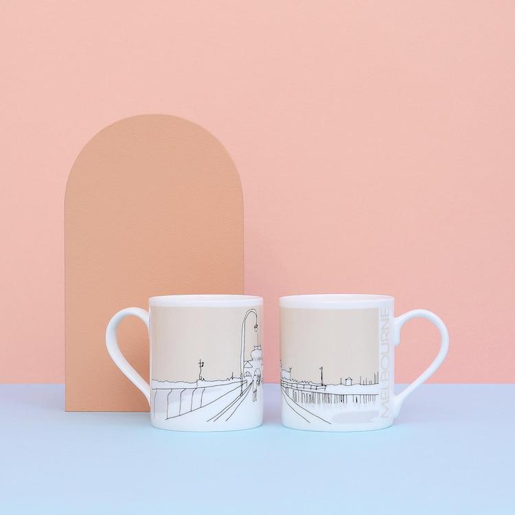 City Sketches Mug - 15 Architecture-Inspired Mugs for Design Lovers