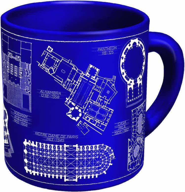 Floorplan Mug - 15 Architecture-Inspired Mugs for Design Lovers