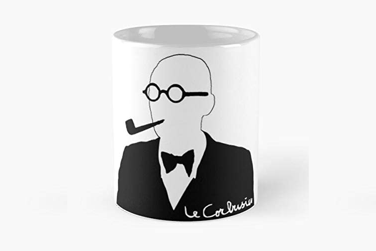 Le Corbusier Mug - 15 Architecture-Inspired Mugs for Design Lovers