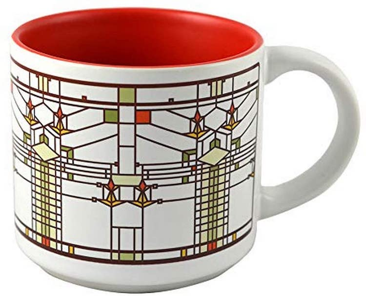 FLW Mug - 15 Architecture-Inspired Mugs for Design Lovers