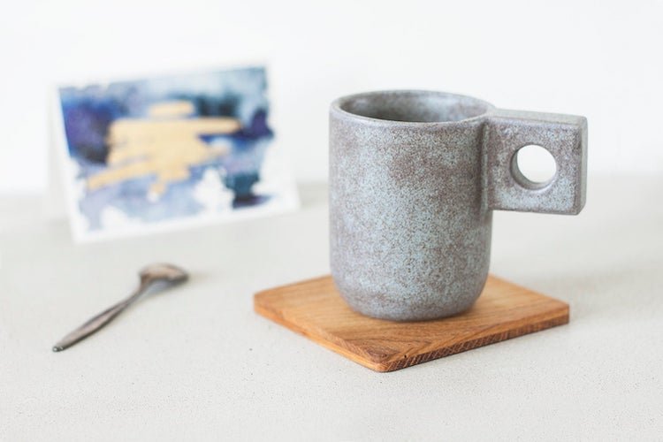 Fake Cement Meg - 15 Architecture-Inspired Mugs for Design Lovers