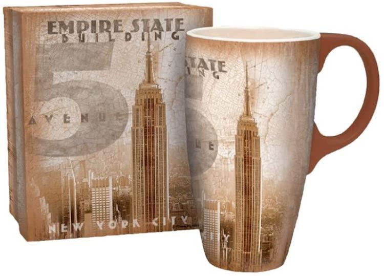 Empire State Building Architecture Mug