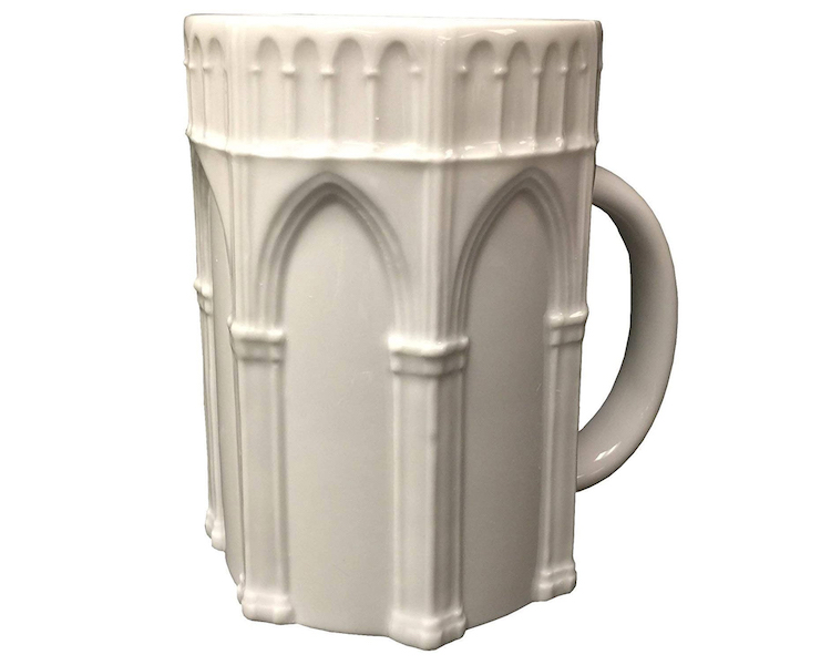 Gothic Mug - 15 Architecture-Inspired Mugs for Design Lovers