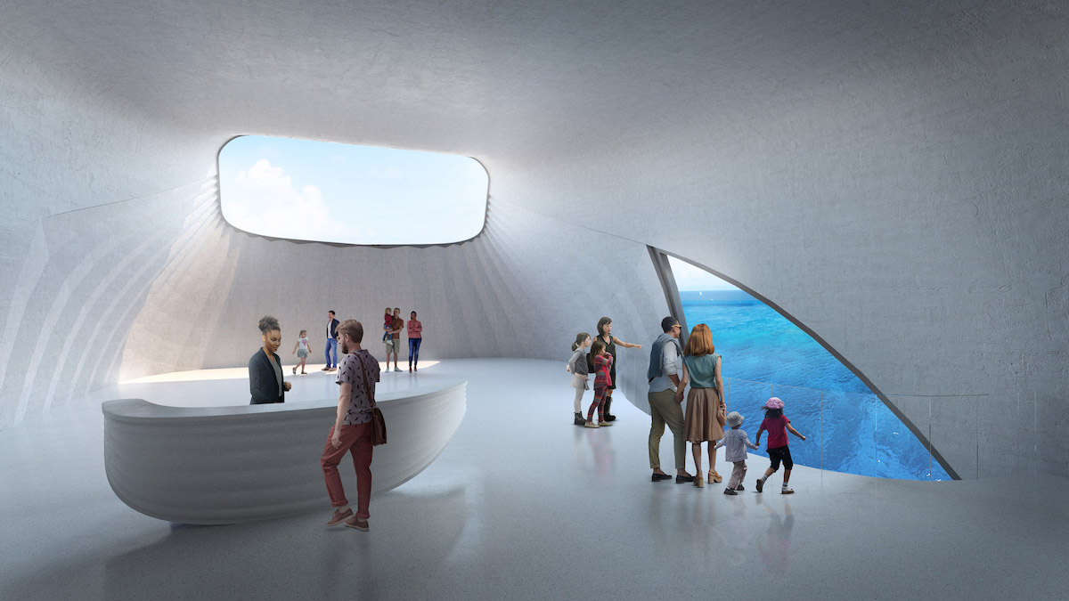 This Australian Marine Observatory Is Shaped Like a Whale Breaching the Water
