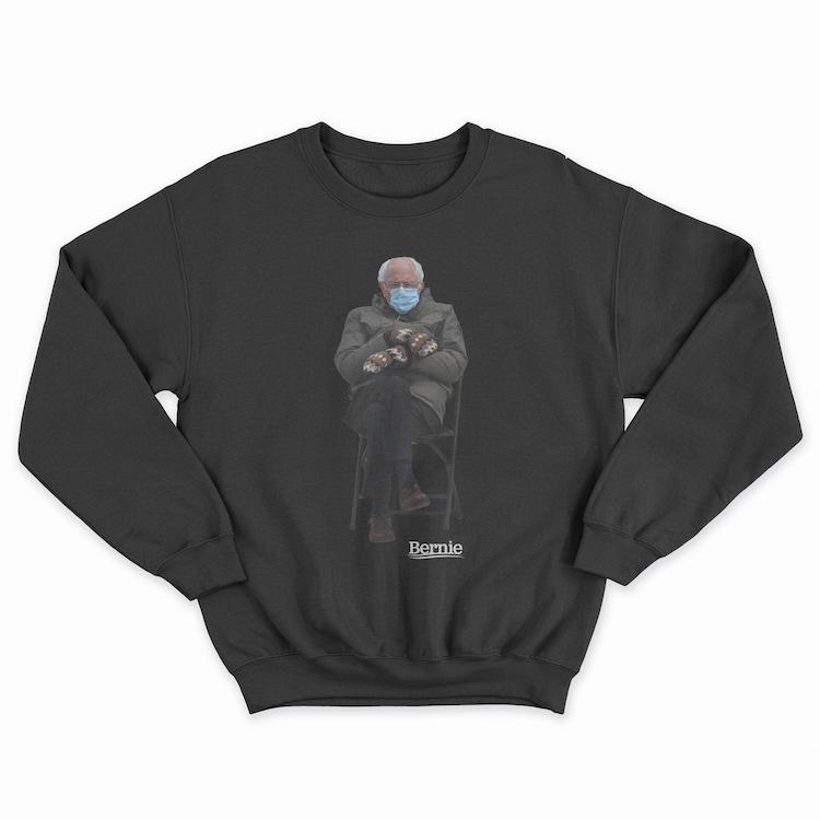 Bernie Sanders Inauguration Meme Sweatshirt