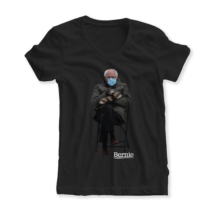 Bernie Sanders Inauguration Meme Womens Shirt