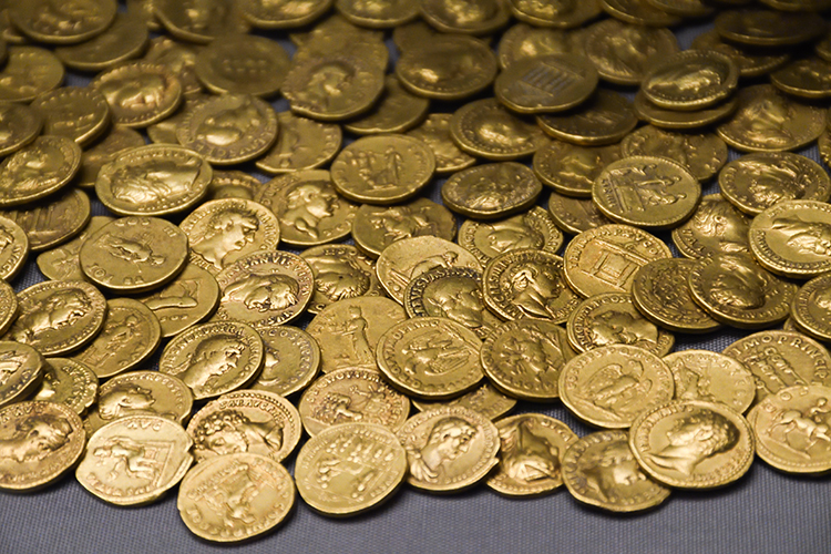 Celtic Coin Hoard of Warrior Queen Boudica