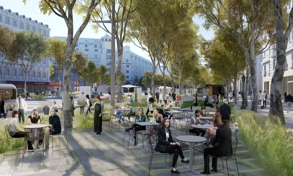 The Champs-Élysées is Due for a Redesign and Architects Have Some Ideas