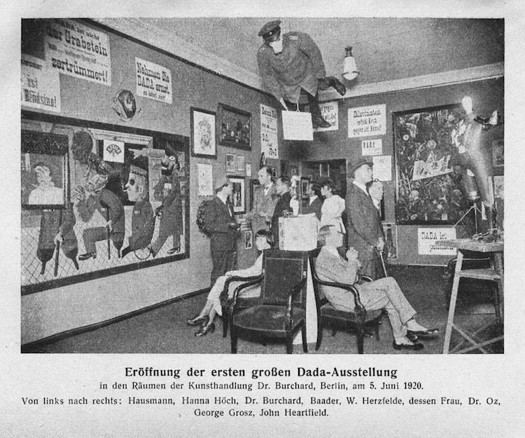 Cabaret Voltaire cuna del dada y el dadaismo