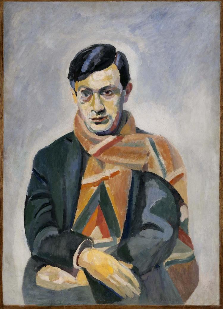 retrato del dadaista Tristan Tzara