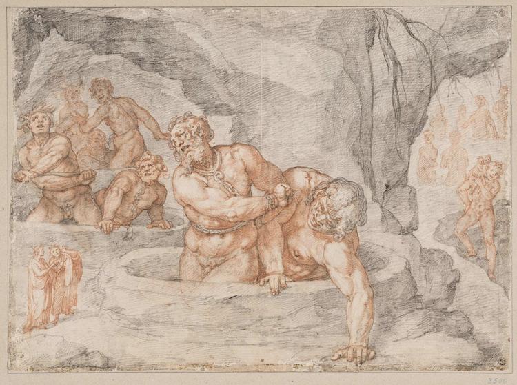 Drawing Illustrating Dante