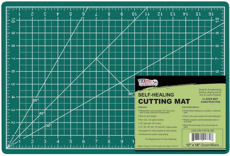 Self-Healing Cutting Mat For Leatherworking