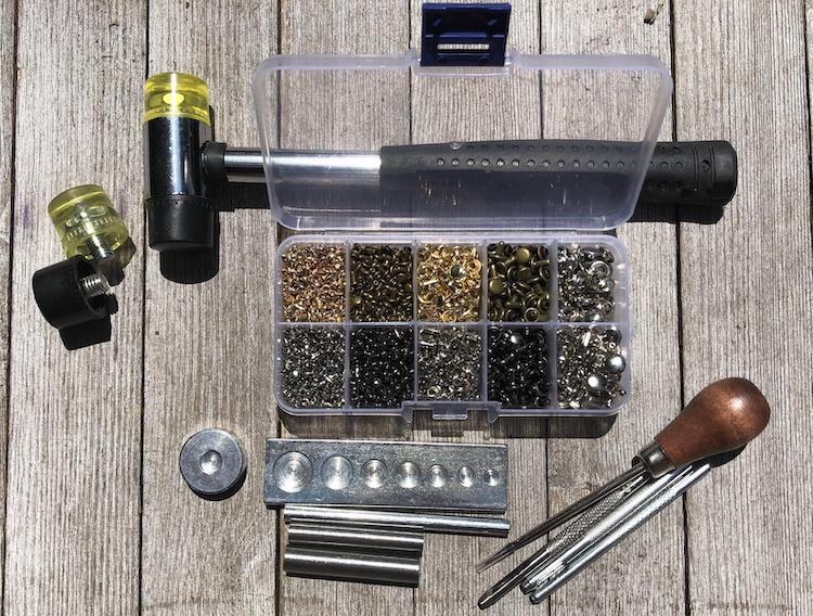 Rivet Tool Kit For Leather Craft