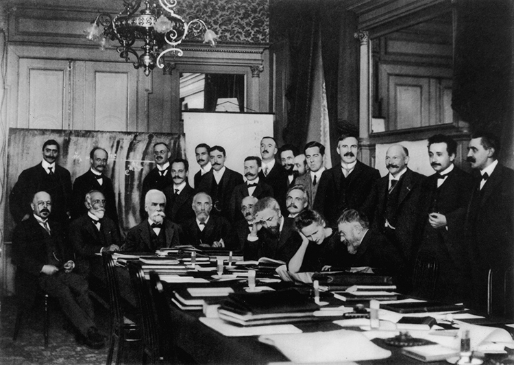 First Solvay Conference Brussels