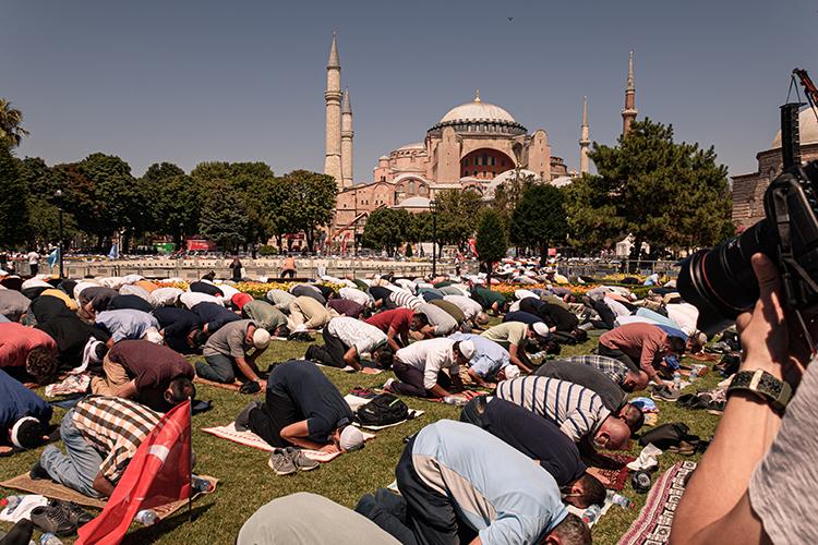Hagia Sophia Mosque Reconversion 2020