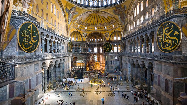 Hagia Sophia Interior Museum 2010