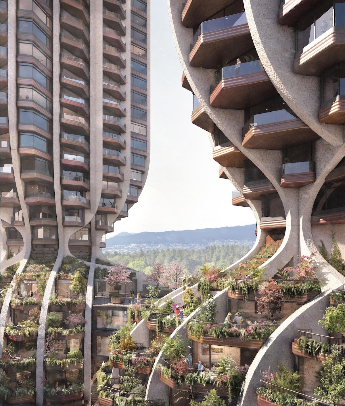 Heatherwick Studio Releases Renderings of Two New Residential Towers for Vancouver