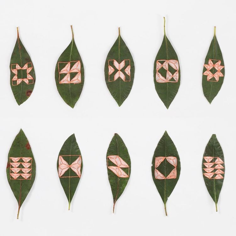 Hilary Water Fayle Leaf Embroideries