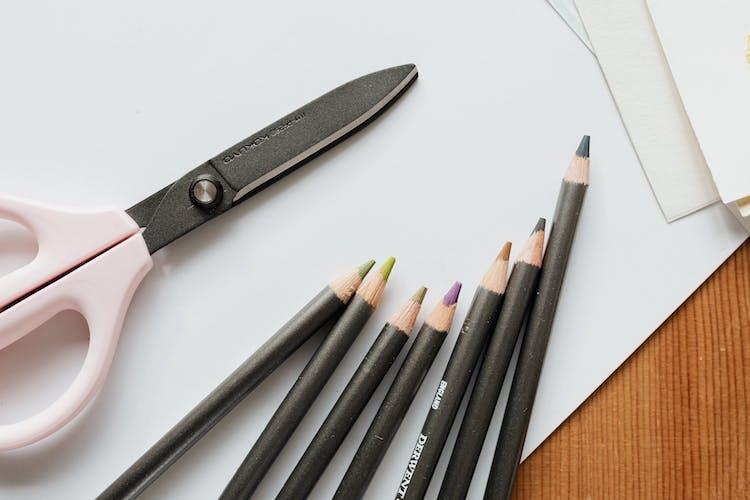 Scissors, Paper, and Pencils