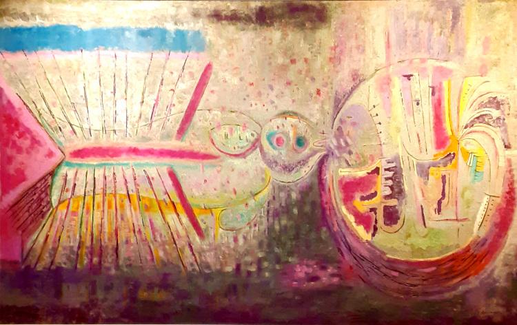 pintura de juan soriano