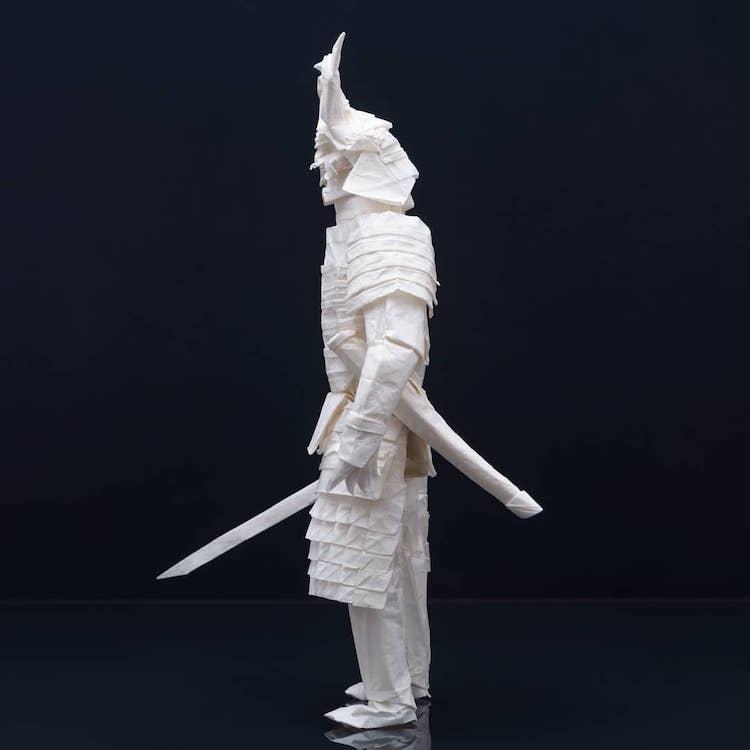 Paper Sculpture by Juho Könkkölä