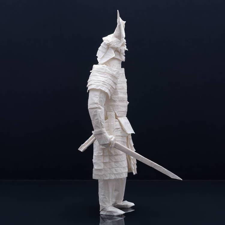 Origami Samurai by Juho Könkkölä