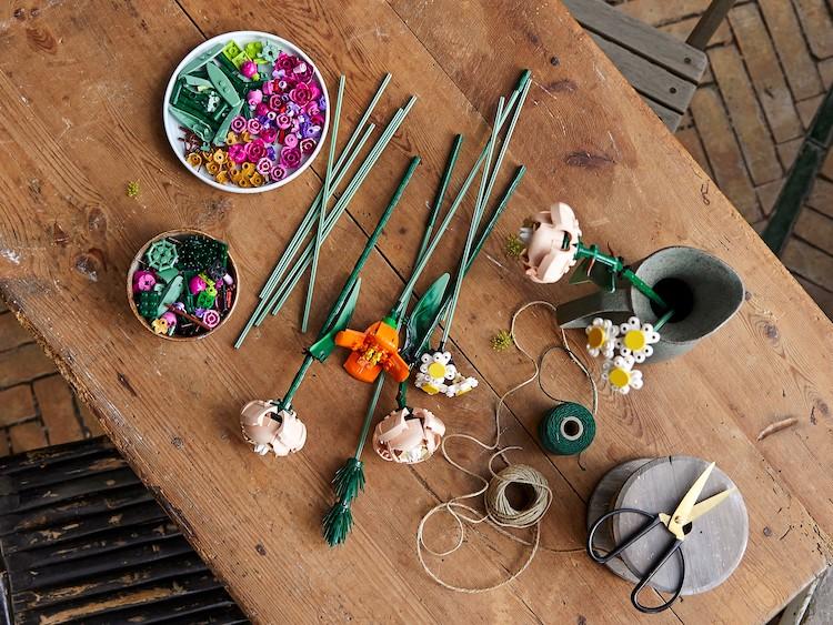 LEGO Flower Arrangement