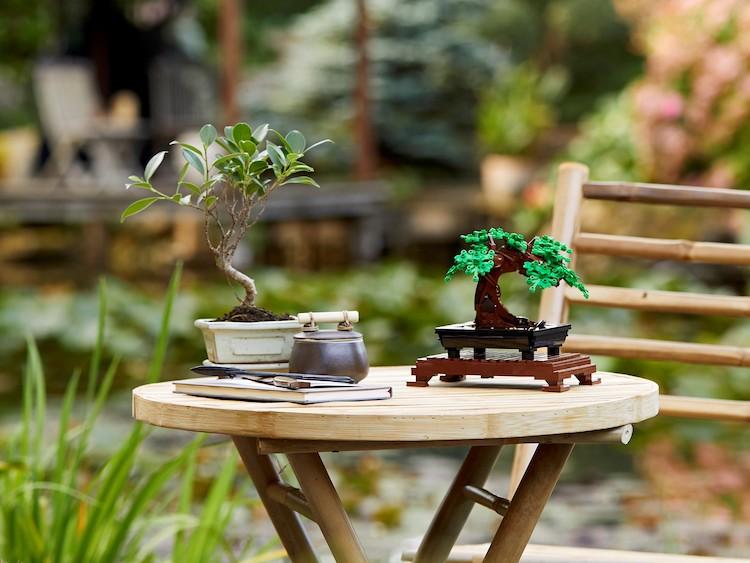 Bonsai Tree Made of LEGO
