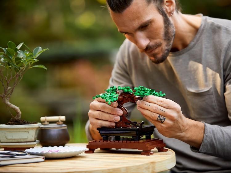 LEGO Bonsai Tree Build Kit