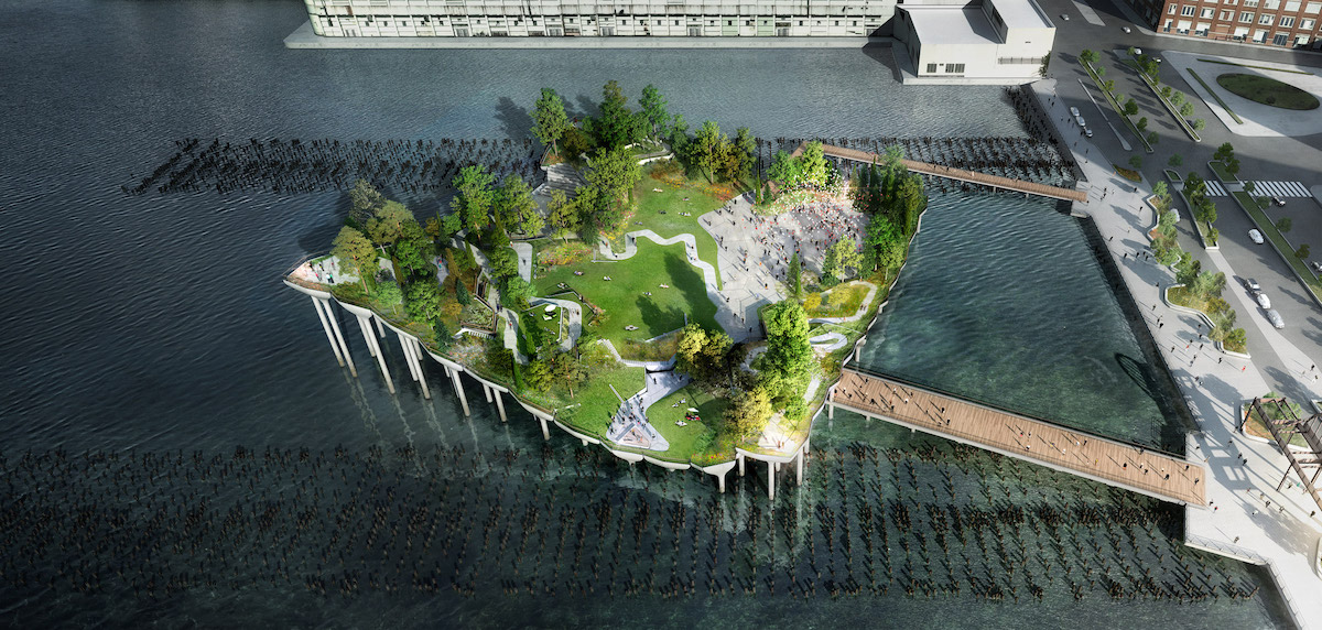 Heatherwick Studio's Little Island Will Provide a Nature Getaway in NYC