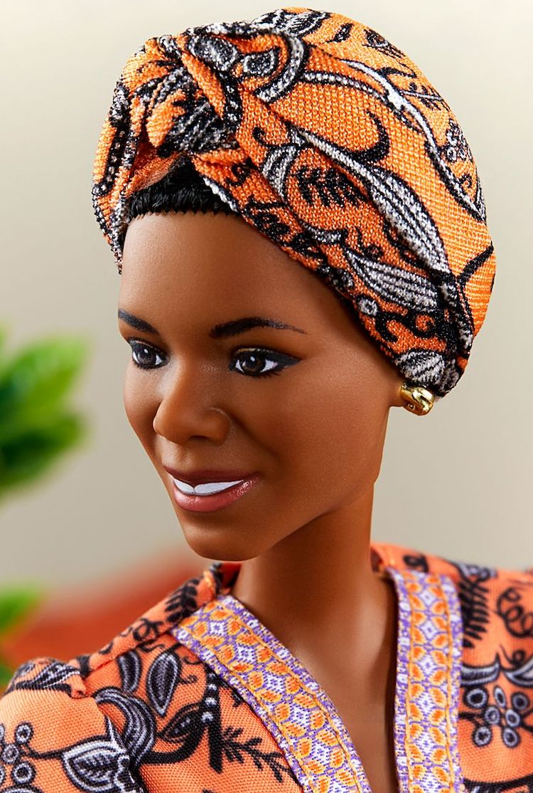 Maya Angelou Doll Closeup