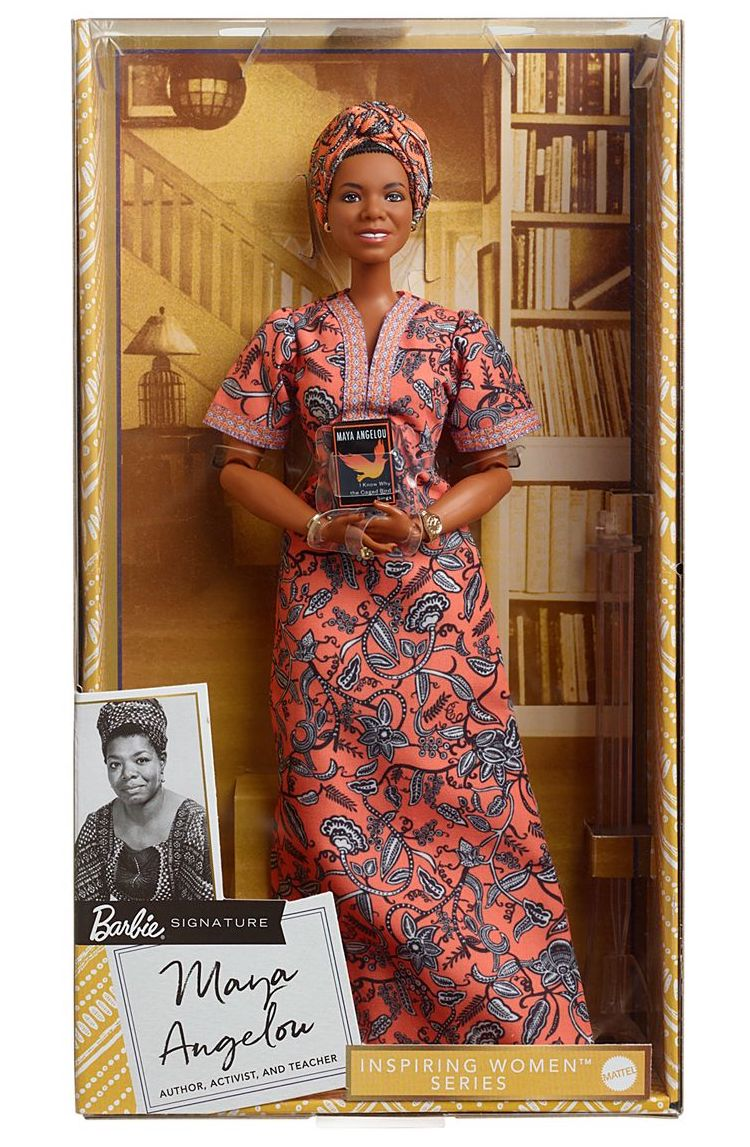 Maya Angelou Barbie Doll