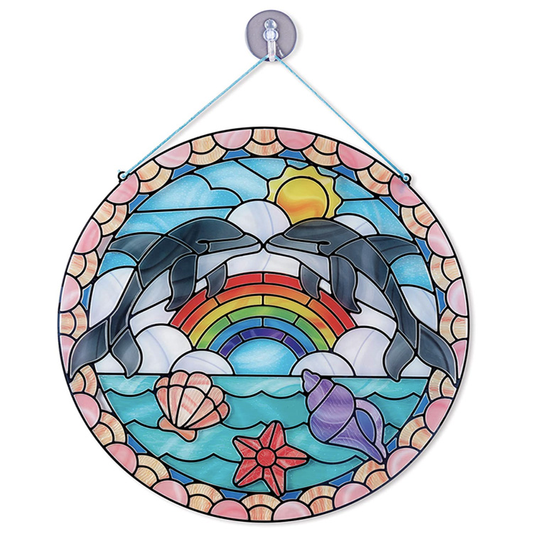 Melissa and Doug Sticker Stained Glass for Kids